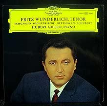 Fritz Wunderlich, Tenor : Schumann: Dichterliebe / Wunderlich, Giesen