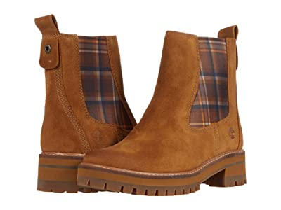 Timberland Courmayeur Valley Chelsea (Medium Brown Suede) Women