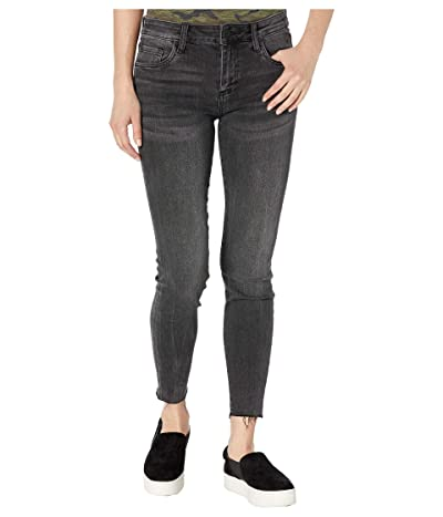KUT from the Kloth Connie Ankle Skinny with Raw Hem in Amicable Wash (Amicable Wash) Women