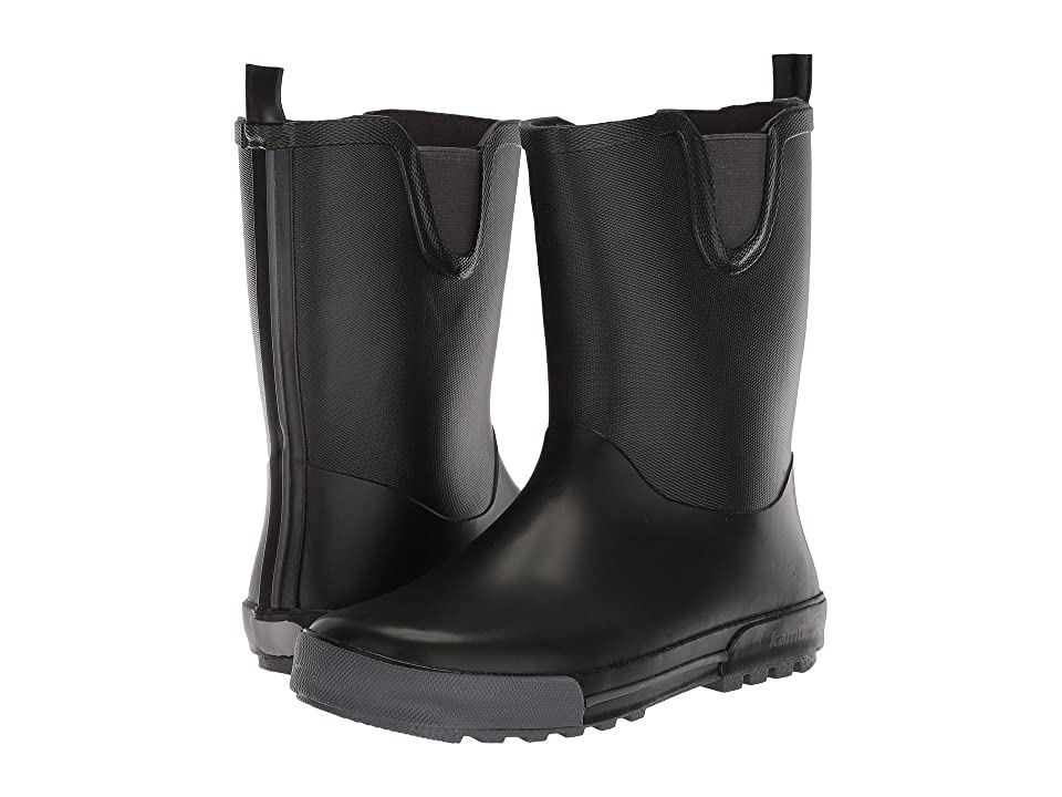 Kamik Kids Rainplay (Infant/Toddler/Little Kid/Big Kid) (Black) Kids Shoes