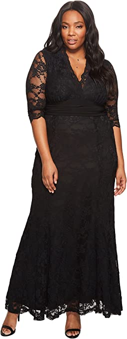 Kiyonna Screen Siren Lace Gown