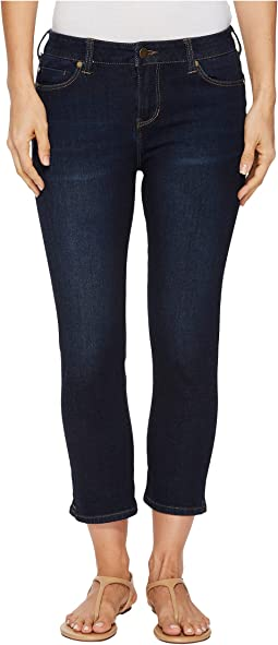 "Liverpool The Hugger Milly Capris 23"" in Corvus Dark/Indigo"