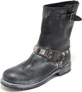 6e80c714e Frye 3774L Stivali Donna Neri Rogan Sud enginner Scarpe Boots Shoes Women
