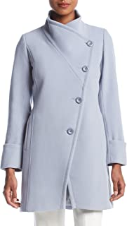 Trina Turk Asymmetrical Button Coat