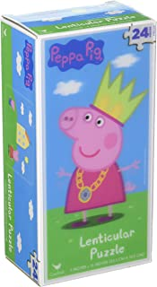 Peppa Pig 24pc Lenticular Tower Puzzle