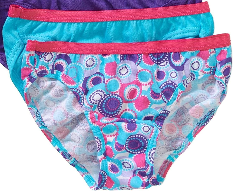Hanes Big Minneapolis Mall Girls 12-Pack Bikini 12 - Mail order Panties Underwear multi