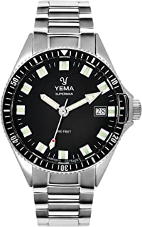 meilleur service 49575 dbcaf Amazon.fr : Bracelet Montre Yema