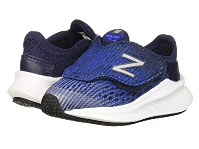 New Balance Kids Fresh Foam Fast (Infant/Toddler) (Light Aluminum/Team Royal) Boys Shoes