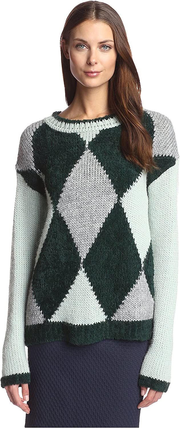 Beatrice B. Women's Argyle Sweater