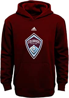 MLS Boys Outerstuff 8-20 Primary Logo Fleece Hoodie, Team Color ,