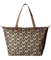 Orla Kiely - Mini Wild Daisy Printed Zip Shopper