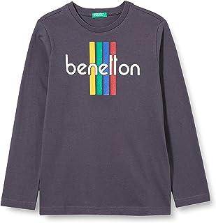 United Colors of Benetton (Z6ERJ) T-Shirt M/L Camiseta para Niños