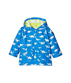 Color Changing Dinosaur Menagerie Classic Raincoat (Toddler/Little Kids/Big Kids)