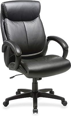 "Lorell Executive Chair, 45.5"" x 28"" x 31.8"", Black"