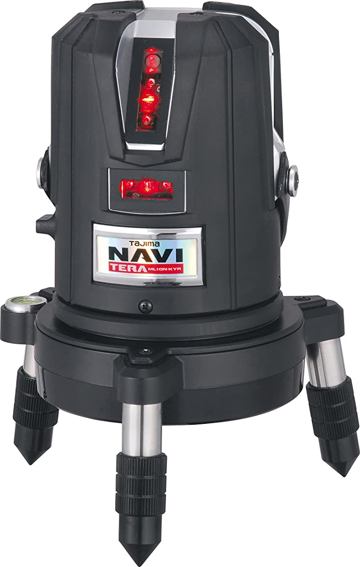 のために相談イヤホンタジマ レーザー墨出し器 NAVITERAレーザー矩?横?両縦/10m/IP ML10N-KYR
