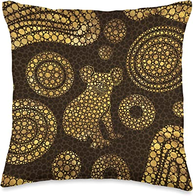 The Pillow Collection Elyes Geometric Rain Down Filled Throw Pillow Home Kitchen