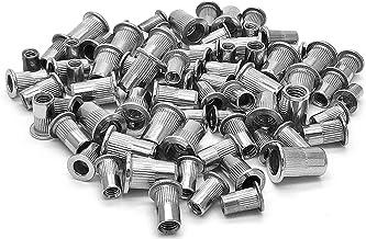 PRINDIY Remaches de Acero Inoxidable 304 Remache Ciego de Extremo Cerrado de 4 mm x 10 mm para Coche 12 Piezas