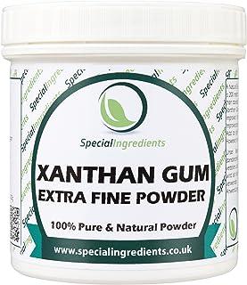 Goma Xantana (polvo del extrafine) 100g - (etiquetas e