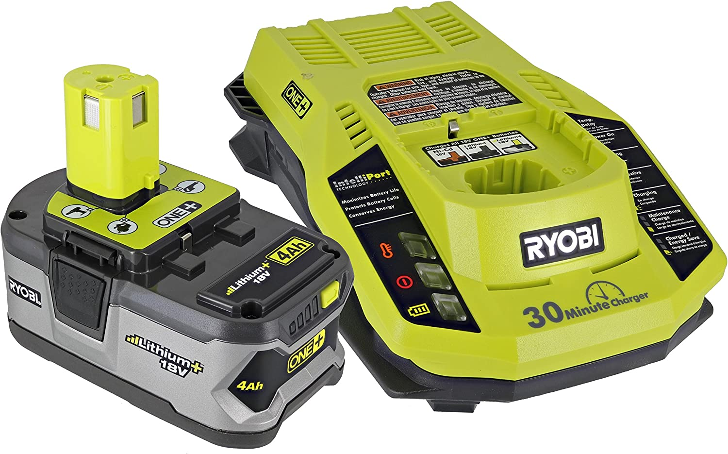 Ryobi P108 One+ Super intense SALE 18V 4.0AH Ranking TOP4 Lithium Dual and P117 Battery Ion