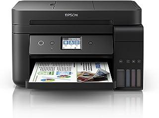 Epson EcoTank Et-4750 Stampante Inkjet 4-in-1, Stampa Fronte/Retro, Fax, Velocità di Stampa 15 ppm, Connettività Wi-Fi e A...