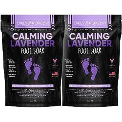 Remedy Calming Lavender Foot Soak with Epsom Salt