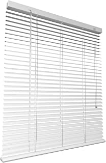 Levivo Persiana de Aluminio, Metal, Blanco, 60 x 130 cm