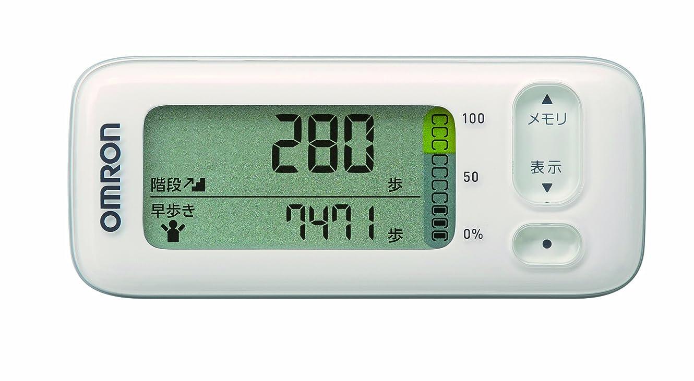 コンチネンタルセットアップ誘惑するオムロン(OMRON) 活動量計 カロリスキャン ホワイト HJA-400-W