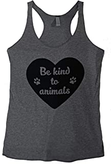 The Bold Banana Women's Be Kind to Animals Tank Top