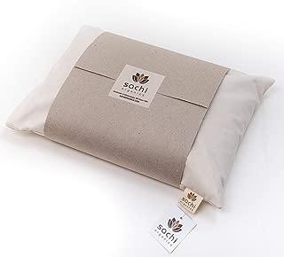 Sachi Organics Buckwheat Hull Neck Pillow Medium