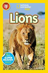 National Geographic Readers: Lions Kindle Edition