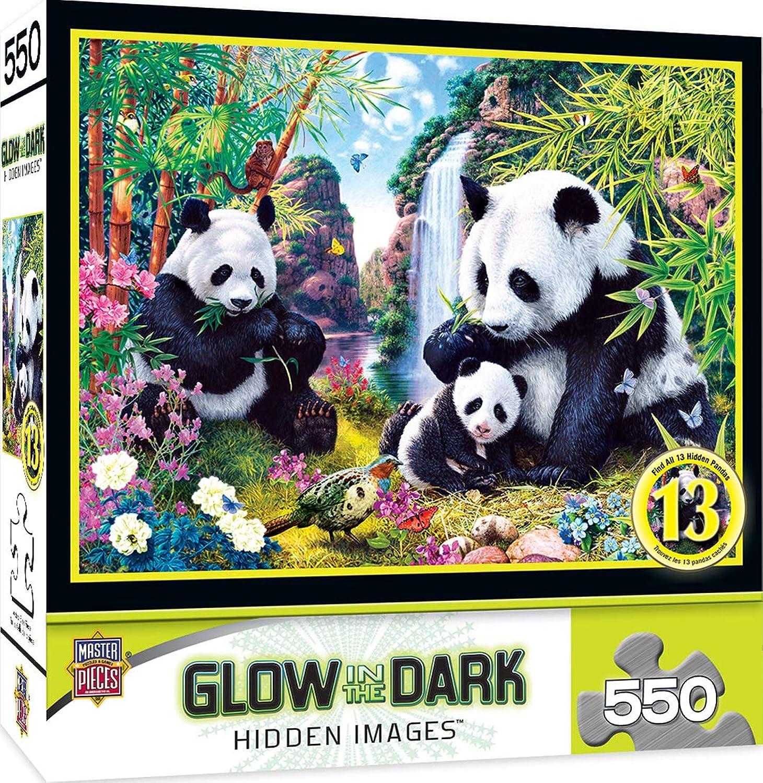 MasterPieces Jungle Pride Hidden Image Glow puzzle