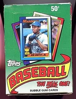 1990 Topps Baseball Cards Box (36 packs/box, possible Sosa & Thomas Rookies)