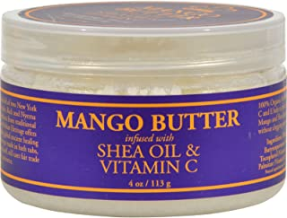 Nubian Heritage - Nubian Heritage Mango Butter Infused with Shea Oil and Vitamin C - 4 oz