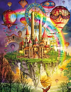 Agirlgle Jigsaw Puzzles 1000 Pieces for Adults for Kids, Jigsaw Puzzles -Tarot Castle- 1000 Pieces Jigsaw Puzzles,Softclic...