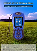 Noyafa NF-198 GPS Test Devices GPS Land Meter Can Display Measuring Value, Figure Track and Automatically Calculate Price Measurement (Include Battery)