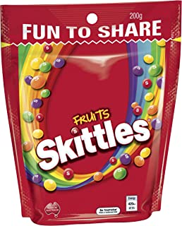Skittles Skittles Fruits Share Bag 200g, 200 g