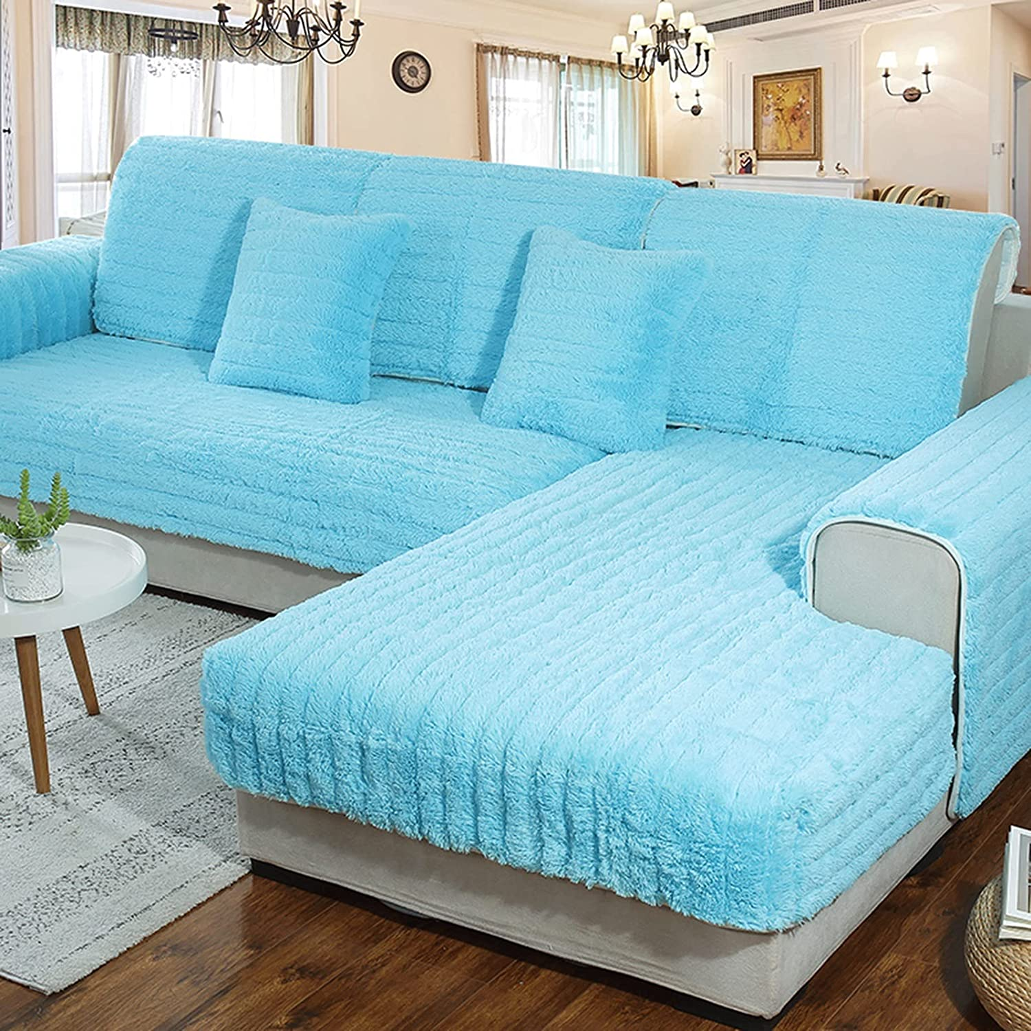 ZYZCJT Plush Couch Cover1 quality assurance Soft Super beauty product restock quality top! 1 Sold by Sofa Cover