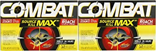 Combat Max Small Roaches Roach Killing Bait Stations 12 ea (Pack of 2)