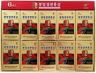 Pocheon 200g(10ea X 20g) 6Years Sliced Korean Panax Red Ginseng Root with Honey Saponin