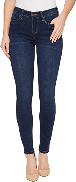 Abby Skinny Premium Super Stretch Denim Jeans in Lakewood Mid