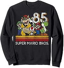 Nintendo Super Mario Retro Character Line-Up Sweatshirt