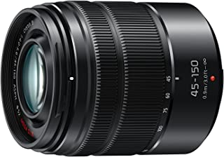 Panasonic LUMIX G VARIO 45-150mm F4.0-5.6 ASPH Mirrorless Camera Lens with Optical Stabilizer, Micro Four Thirds Mount, H-...