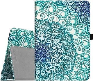 Fintie Asus ZenPad 3S 10 Z500M/ZenPad Z10 ZT500KL Case - [Slim Fit] Premium PU Leather Folio Stand Cover with Auto Sleep/Wake for ZenPad 3S 10/Verizon Z10 9.7-Inch Tablet, Emerald Illusions