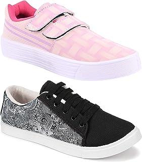 Camfoot Women's Multicolor Combo-(2)-5051-9031 Running Shoe