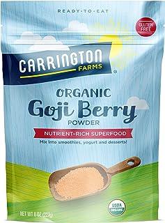 Carrington Farms Organic Goji Berry Powder, 8 Ounce