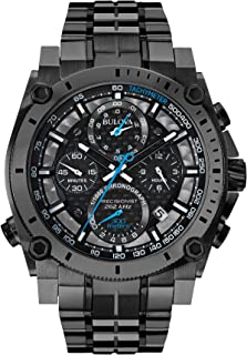 Bulova Mens 46mm Precisionist Gunmetal Gray Chronograph Watch
