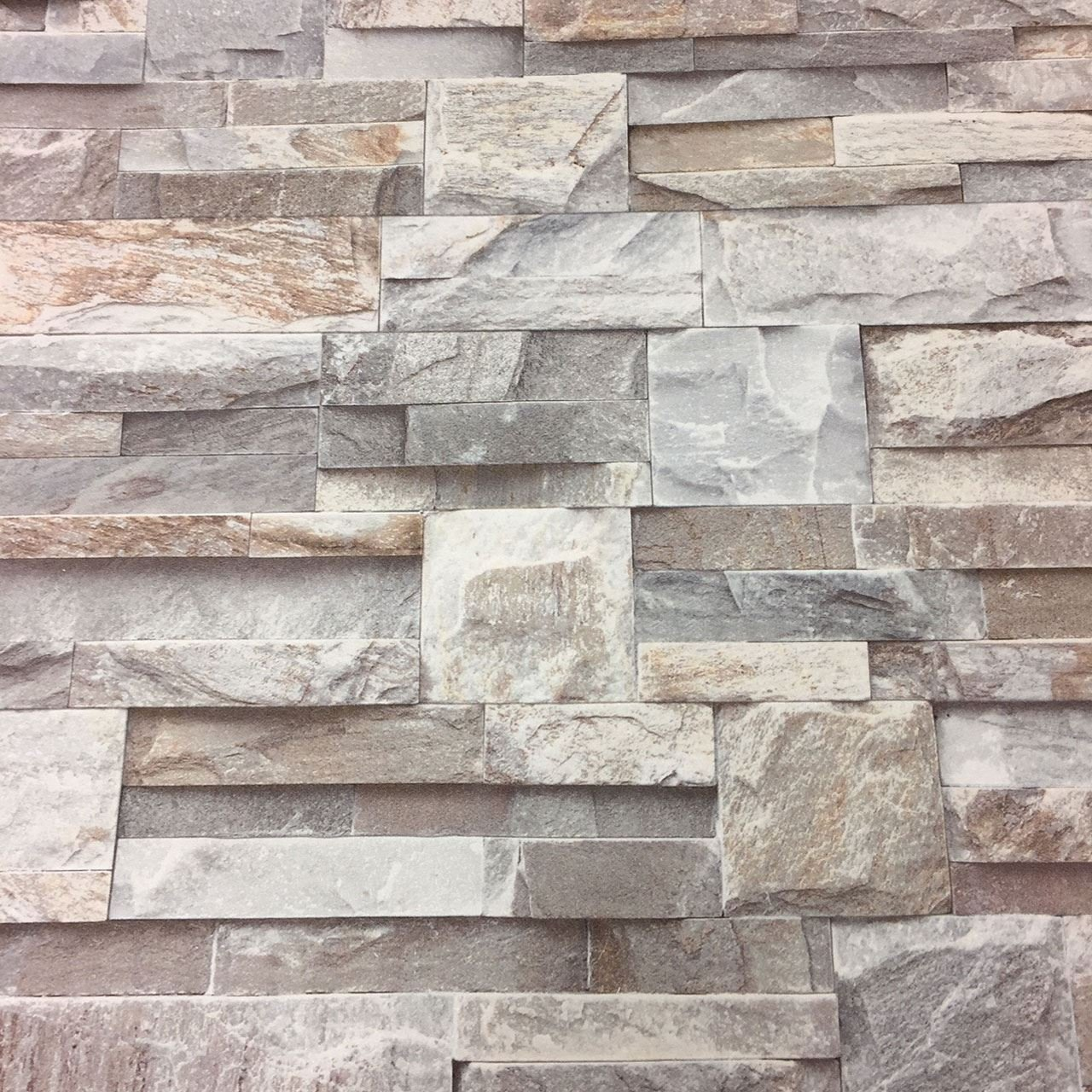 3d Grey Slate Brick Stone Effect Wallpaper Luxury Textured Non Woven Vinyl From Y L Buy Online In Bosnia And Herzegovina At Bosnia Desertcart Com Productid 139390593
