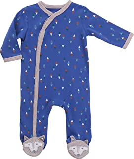 Asher & Olivia Footed Pajamas for Boys Baby Sleepers Side Snap Onesie Footies