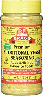 Bragg's Nutritional Yeast, 4.5 Oz, 2 Pack