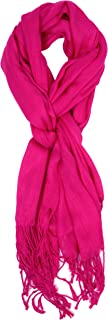 Love Lakeside-Women's Must Have Solid Color Crinkle Scarf